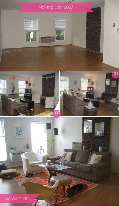 design evolution home tour living room