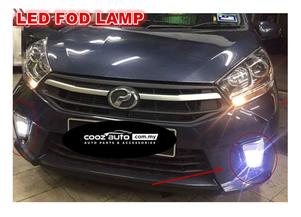 PERODUA AXIA G SPEC 2017 2018 Daylight Daytime DRL
