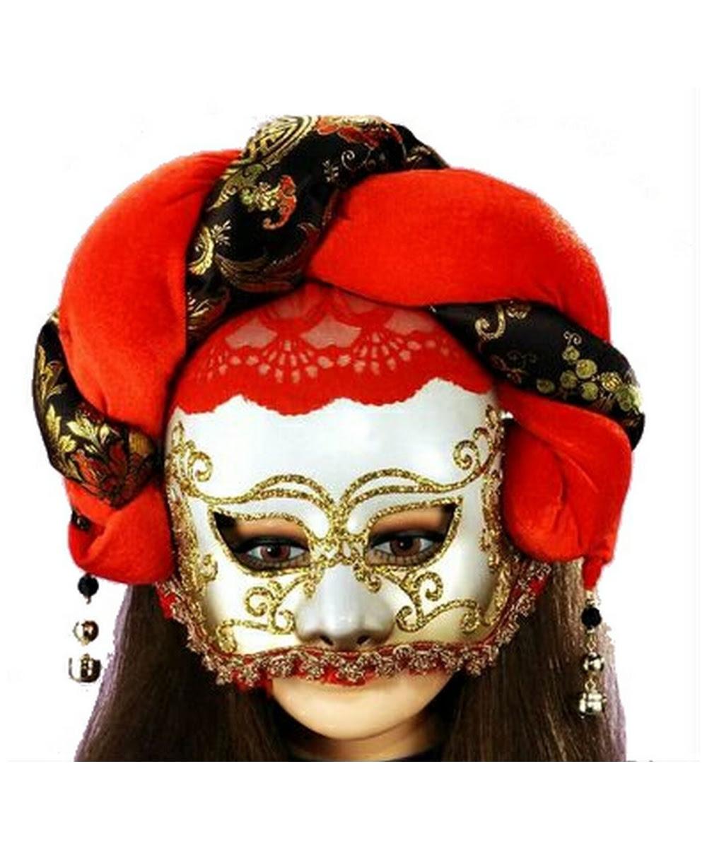 adult elegant jester masquerade mask  halloween costume mask