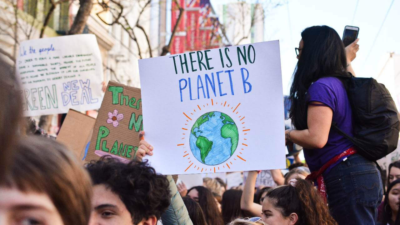 Although the pandemic saw planet-warming emissions nosedive by about seven percent in 2020, concentrations of carbon pollution continued to rise.