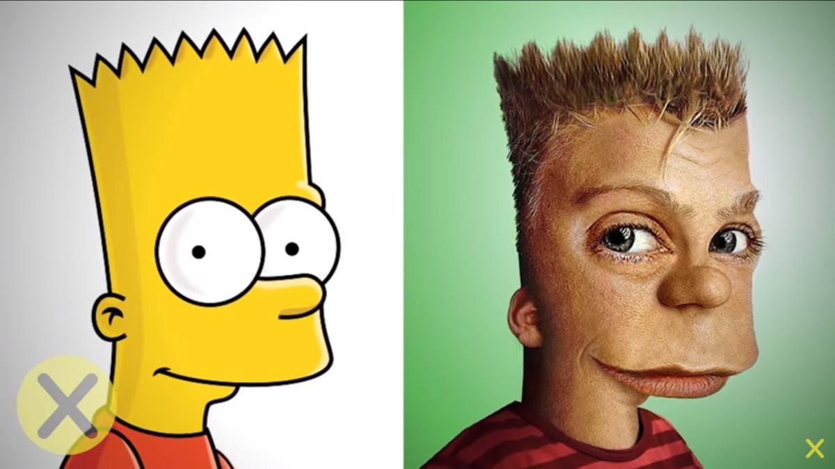 Youtube De Bart Simpson A Pepa Pig Así Serían Los Dibujos Animados