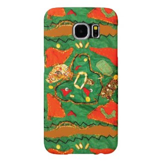 Cloth and Bead Design on Samsung Galaxy S6 Case Samsung Galaxy S6 Cases
