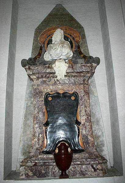 Fil: 3209 - Roma - S. Maria degli Angeli - Tomba Carlo Maratta - Foto Giovanni Dall'Orto 18-juni-2007.jpg