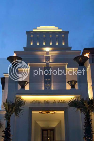 hotel de la paix's facade