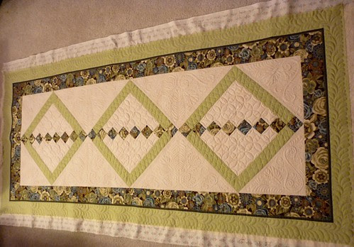 quilting finished