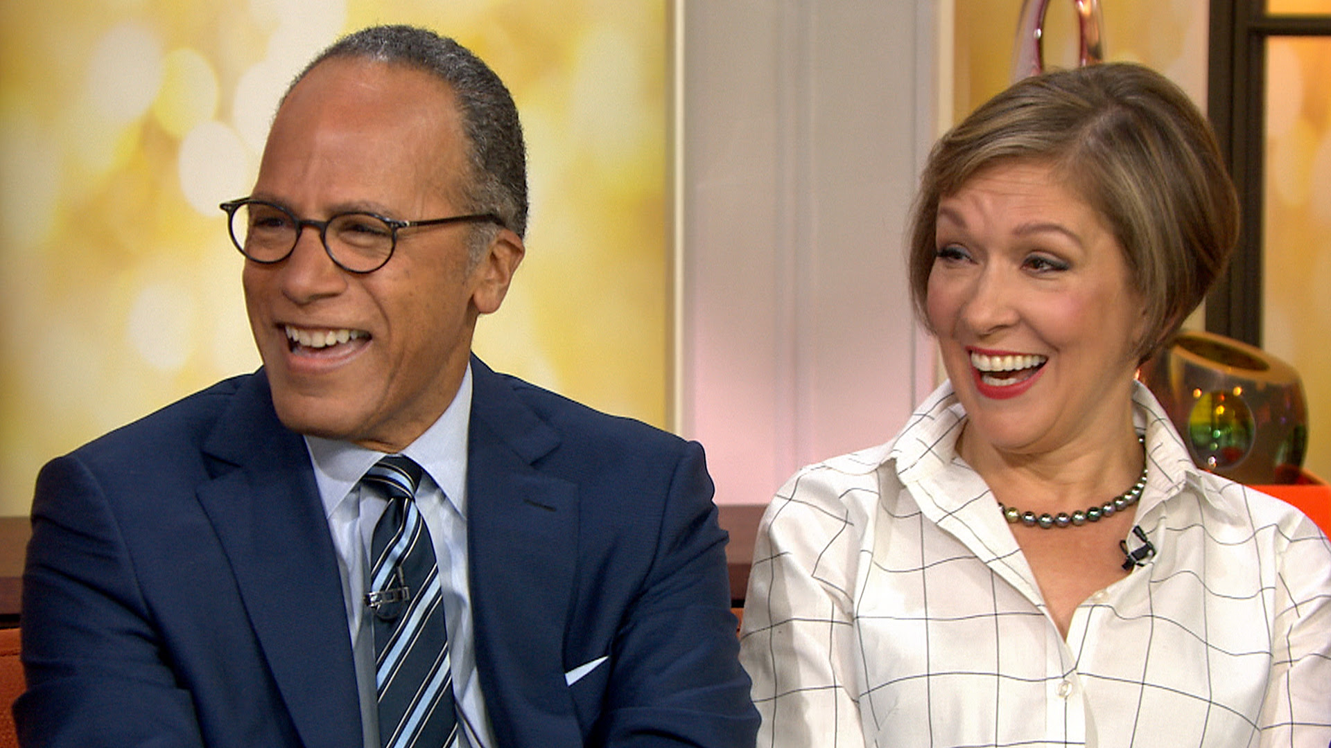 Lester Holt Its Like My First Day Of School At Nightly News