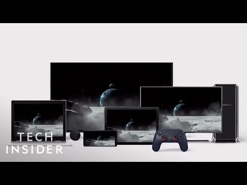 Google's Cloud Gaming Service, Stadia