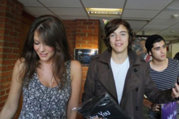 Lucy Horobin with Harry Styles