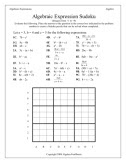 Algebra Fun Sheets The Creative Fun Algebra Worksheets