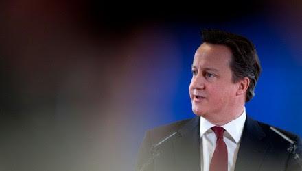 El primer ministro británico David Cameron. Foto: AP