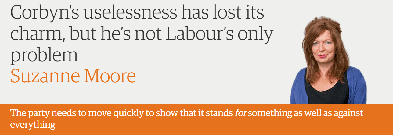 Corbyn's uselessness has lost its charm, but he's not Labour's only problem
