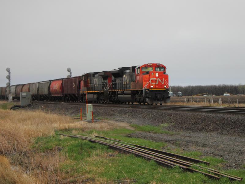 CN 8956 at Diamond