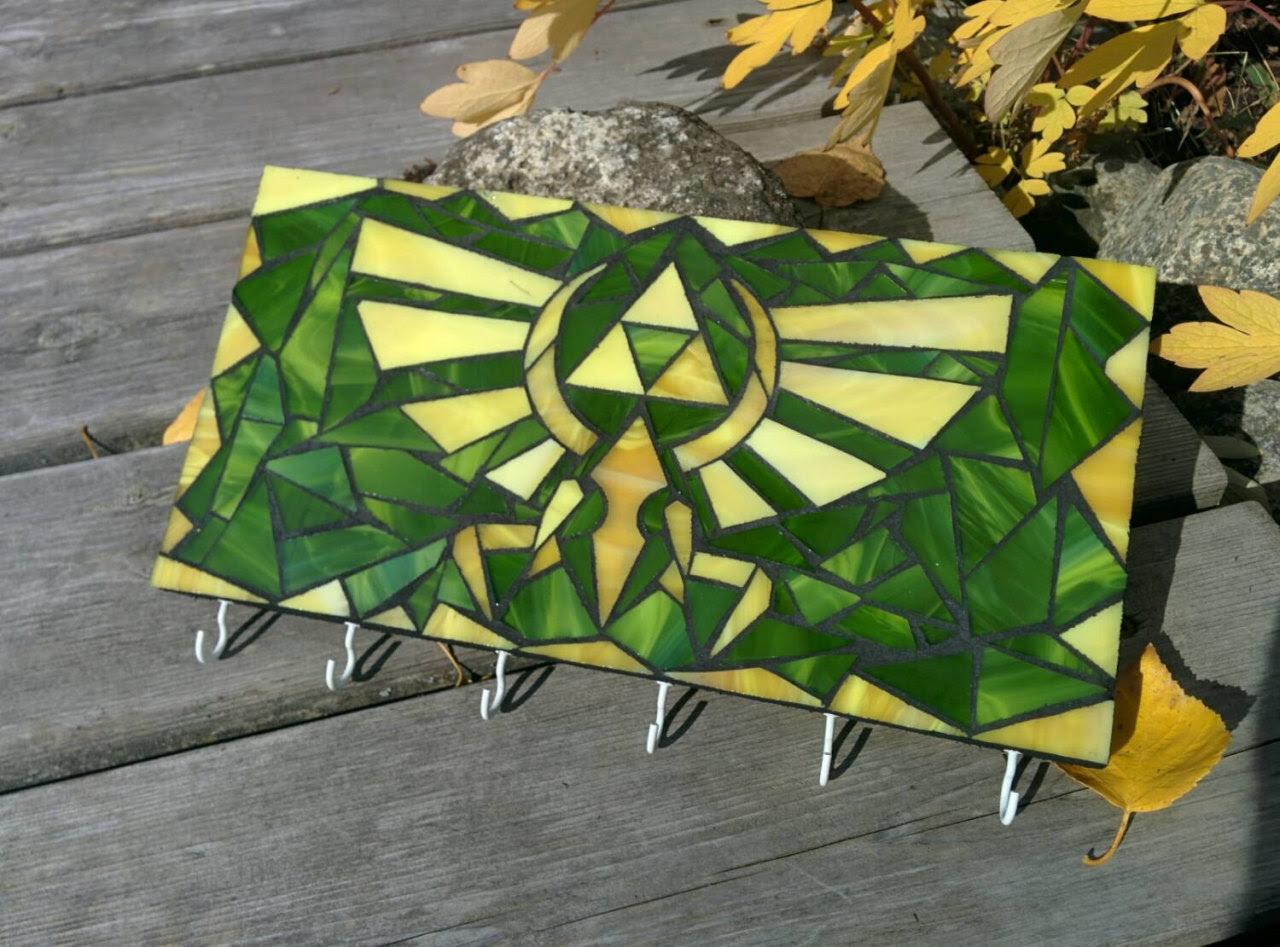 8-Bit Glass Mosaics by Tim Schorr