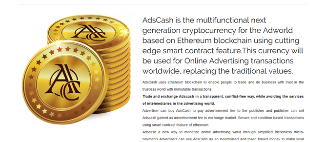 Ads-Cash-Coin