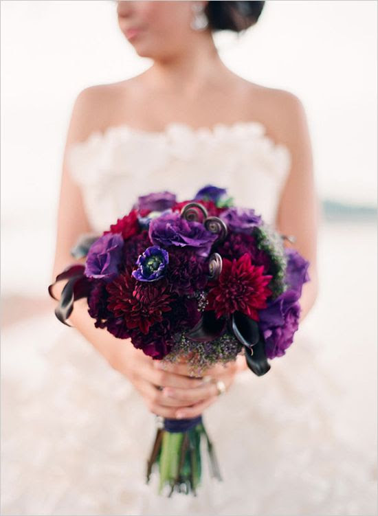 Purple Wedding Purple Gold And Ivory Wedding Ideas 2289901