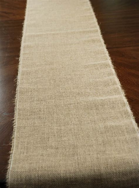 Burlap Table Runner   100% Jute  50% OFF Save On Crafts