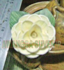 klobot bunga mawar kecil polos 1
