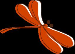 秋のイラストトンボのイラスト無料イラストフリー素材