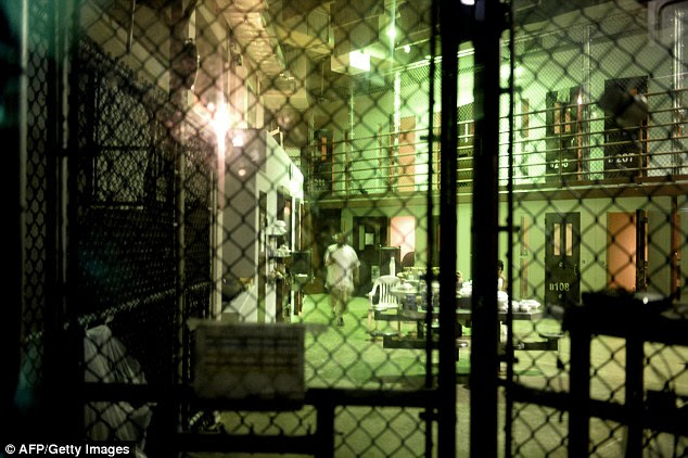 Detained: These are the facilities where dozens of suspected terrorists are still being held, to the frustration of the Obama administration