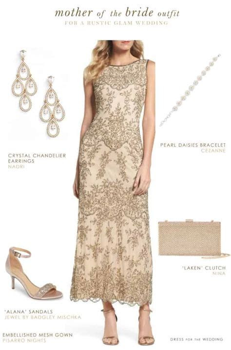 Mother of the Bride Outfit for a Rustic Wedding   Dress