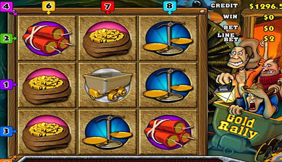 Tools go mining for progressive jackpots in gold rally slots hit png