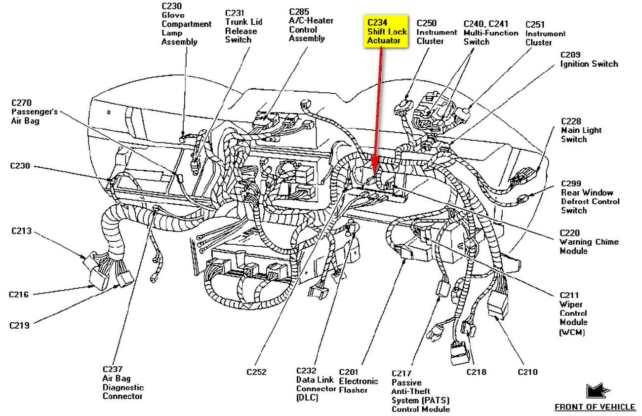 Wiring Diagram  29 1998 Ford Mustang Wiring Diagram