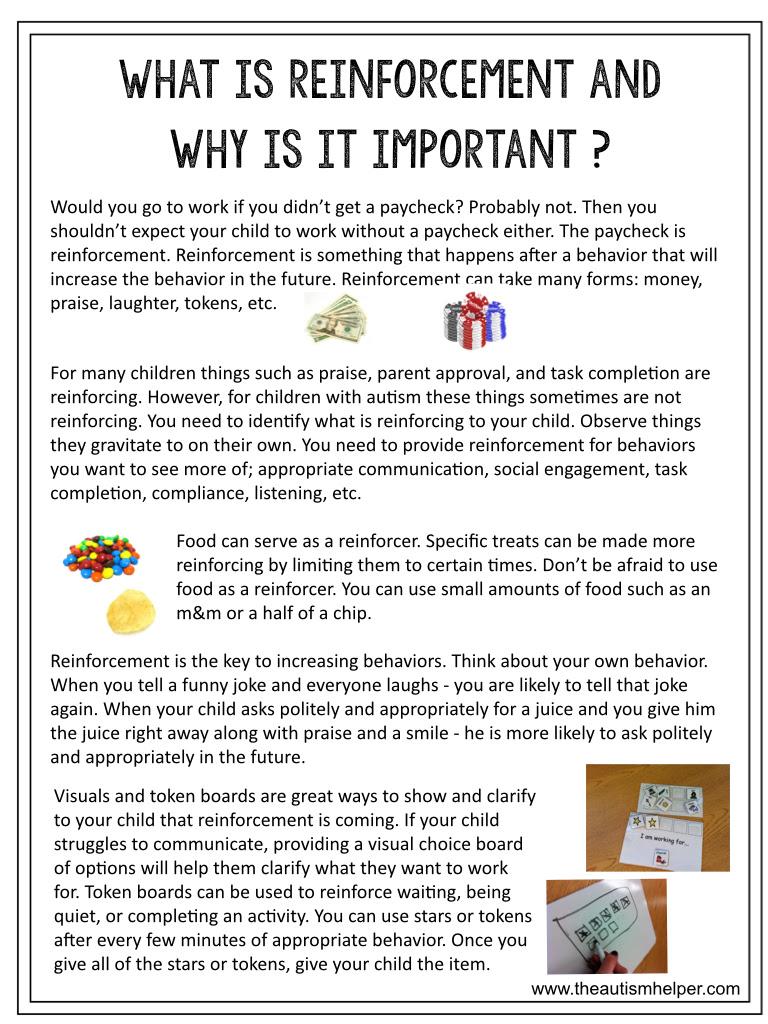 Parent Autism Resources {printable handouts} - The Autism ...