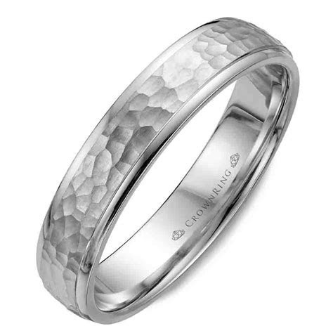 Men's Modern Wedding Band   Crown Ring Collection   The