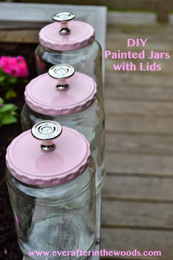 DIY Jars with Cute Lids