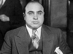 Al Capone, o mais famoso gangster norte-americano