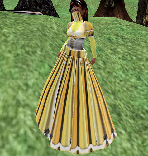 25 Burning Embers Gown Solstice Gold