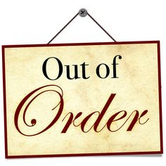 Out of Order Free Printable Sign Template | Free Printable Sign ...