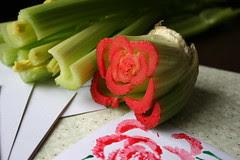 veggie stamping