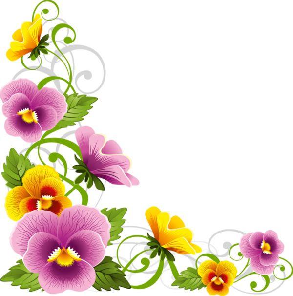 flower border png 29