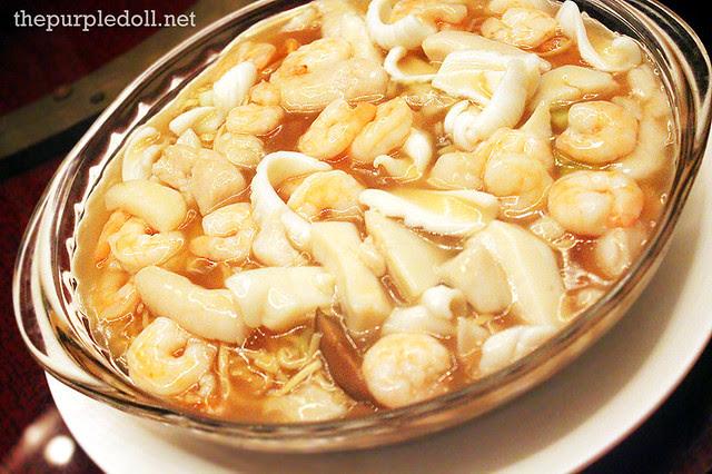 Seafood E-fu Noodles