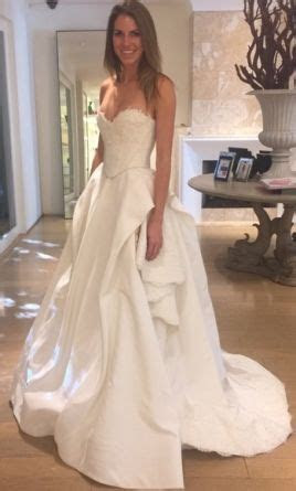 Oscar de la Renta Cassandra Wedding Dress   Used, Size: 2