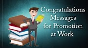 Congratulations Messages for Promotion at Work in Office And More