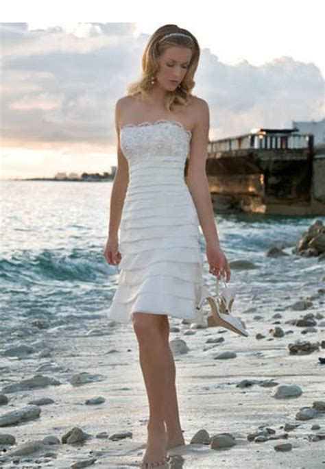 Casual Short Wedding Dresses   Styles of Wedding Dresses