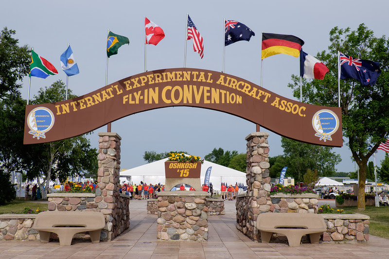 EAA AIRVENTURE sign