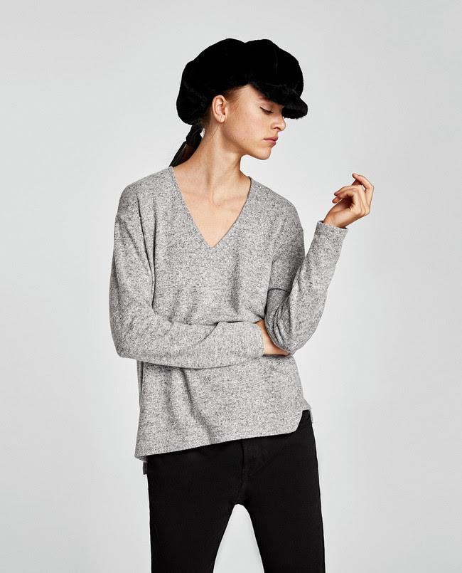 sombrero pelo zara