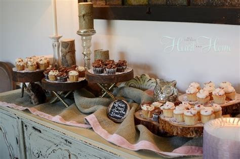 DIY Rustic Cupcake Stand   All Things Heart and Home