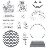Sparkly Seasons Photopolymer Stamp Set by Stampin' Up!