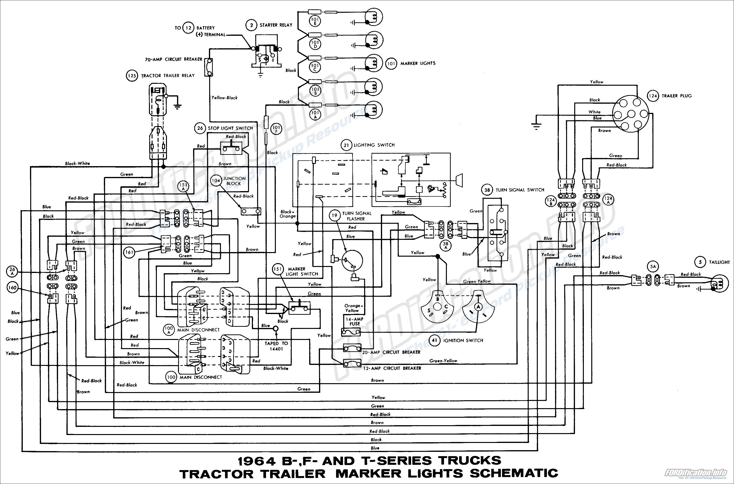 Ford D Series Wiring Diagram