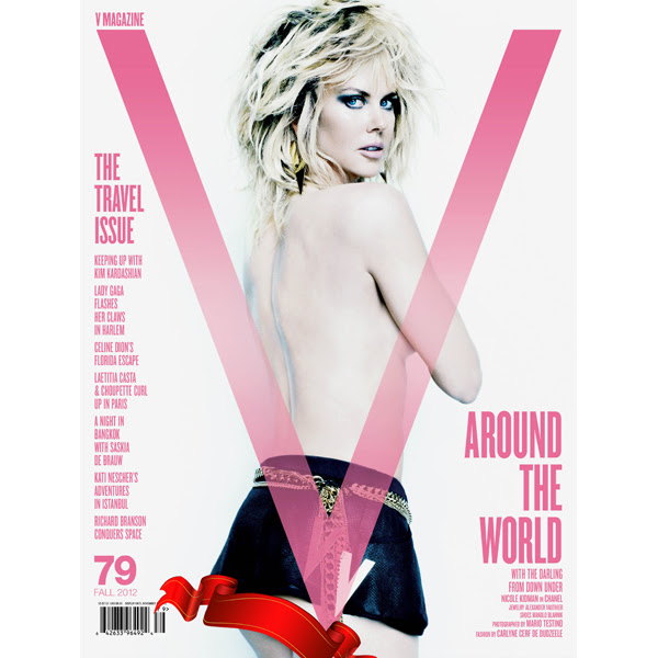 Nicole Kidman Gets Cheeky in V Magazine