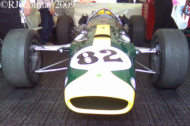 Lotus 38, Goodwood Revival