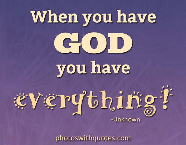 Hd Exclusive God Is My Everything Quotes Soaknowledge