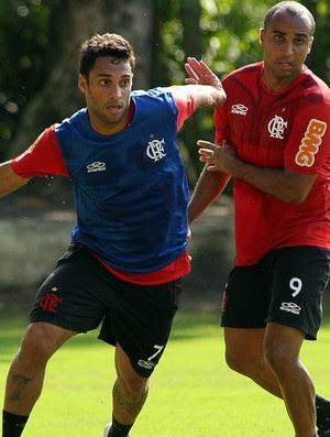 Ibson Deivid treino Flamengo (Foto: Maurício Val / Vipcomm)