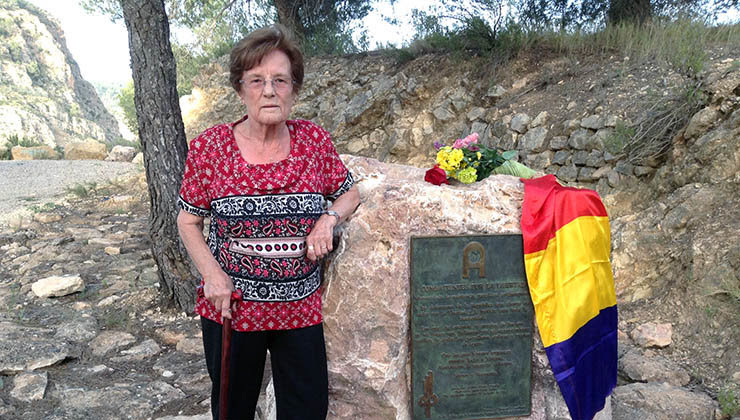 Esperanza Martínez 'Sole', guerrillera antifranquista de la AGLA | Fotos: AGE