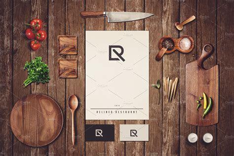 Restaurant Branding Mock up#2 ~ Branding Mockups
