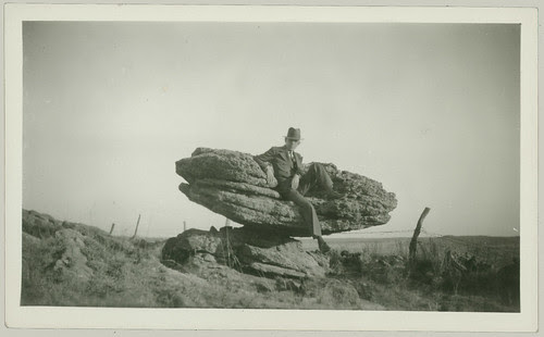 Sitting on a Rock